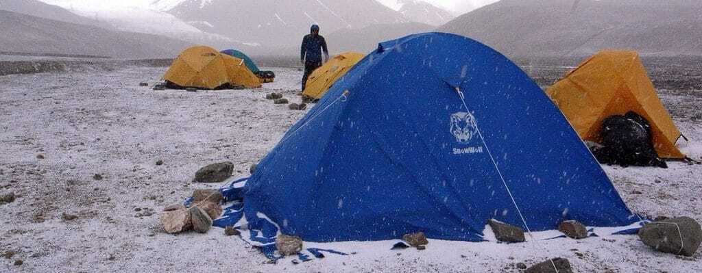 How to Pitch a Tent in The Snow? (6 Essential Tricks)